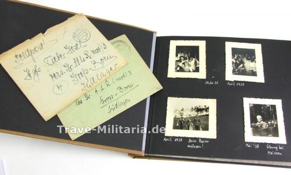 Fotoalbum eines Angehörigen des Art.-Lehr-Regiment 3 (mot)