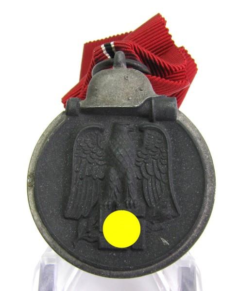 Medaille Winterschlacht im Osten am Band mit Hersteller 7 Meybauer