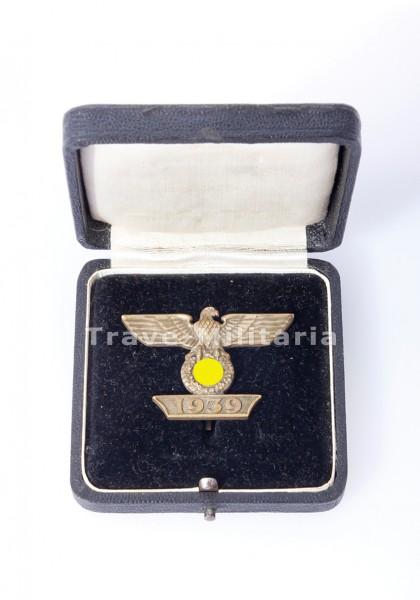 Spange zum Eisernen Kreuz 1. Klasse 1939 - 1. Form im Etui