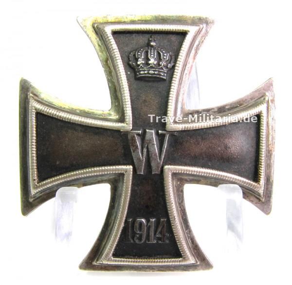 Eisernes Kreuz 1. Klasse 1914 aus 800er Silber