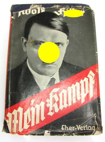 Buch Mein Kampf mit Schutzumschlag 1936