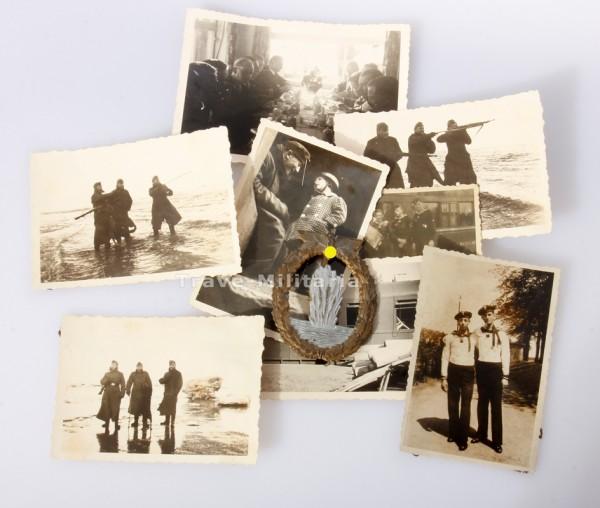 Minensucher Kriegsabzeichen mit Träger Fotos