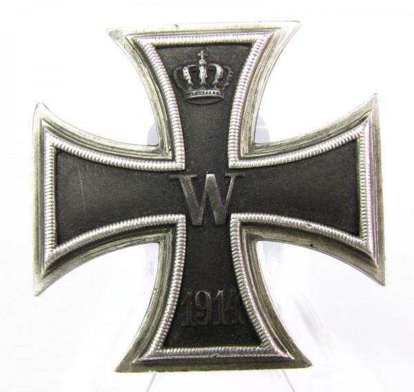 Eisernes Kreuz 1. Klasse 1914, Hersteller WS Wagner und Sohn, Silber, SELTEN