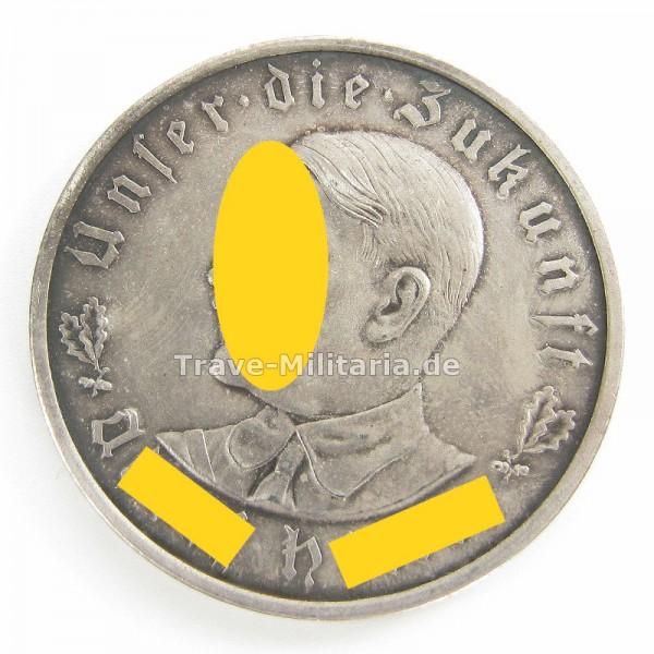 Medaille Adolf Hitler-Unser die Zukunft-1935