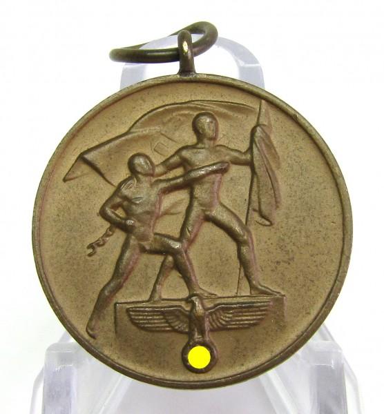 Medaille zur Erinnerung an den 1.Oktober 1938