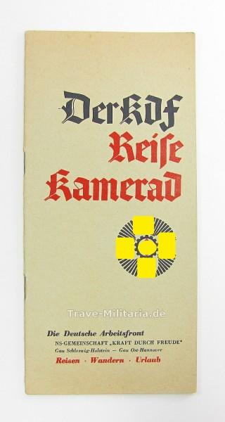 Heft Der KDF-Reise Kamerad Gau Schleswig-Holstein und Ost-Hannover