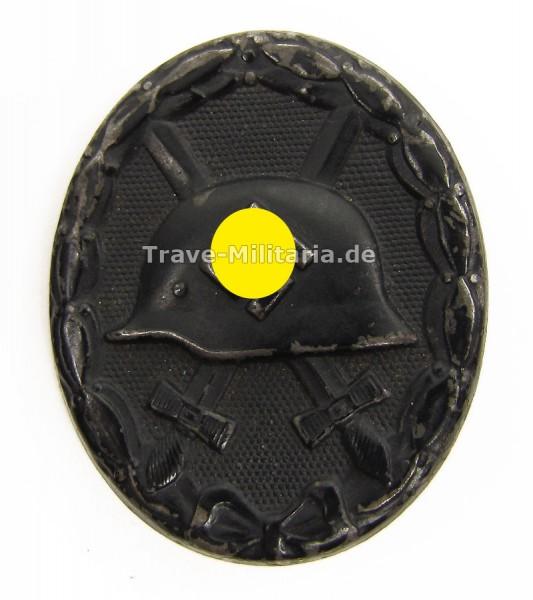 Verwundetenabzeichen in Schwarz Hersteller 3