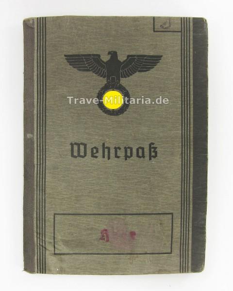 Wehrpass I.R. 202 Gefallen Woronesch 1942