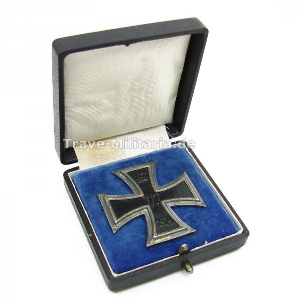 Eisernes Kreuz 1. Klasse 1914 im Etui Hersteller KO