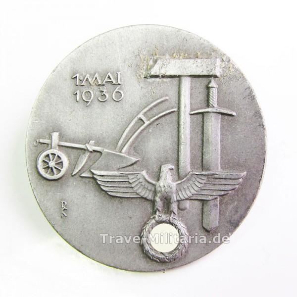 Kleinabzeichen 1. Mai 1936