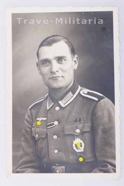 Portrait Unteroffizier der Wehrmacht