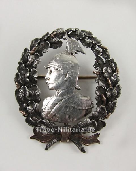 Brosche Wilhelm II. 1891