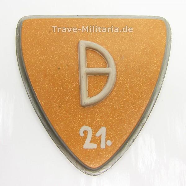 Reservistika Wappenschild 21. Panzer-Division Afrika-Korps