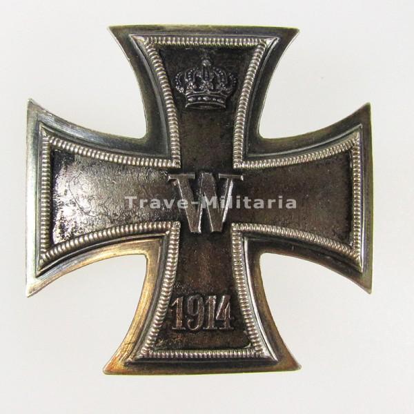 1. Klasse 1914 an DRGM Schraubscheibe - 800 Silber