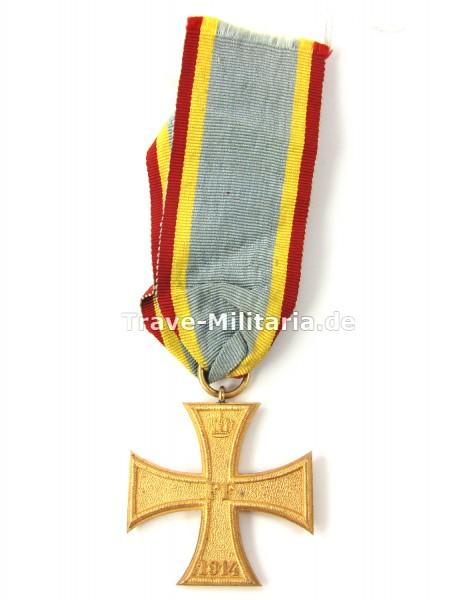 Mecklenburg-Schwerin Militärverdienstkreuz 2. Klasse 1914