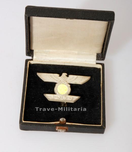 """Wiederholungsspange 1939 zum Eisernen Kreuz 1. Klasse 1914 im Etui """"MINT"""""""