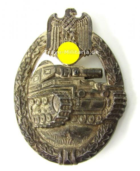 Panzerkampfabzeichen in Silber Hersteller R.R.S.