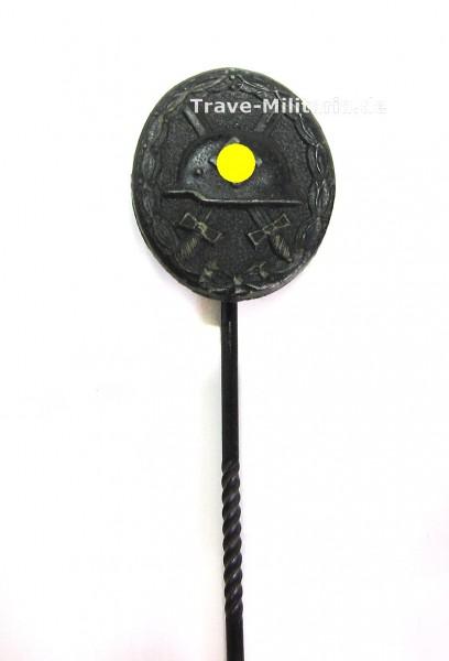 Miniatur Verwundetenabzeichen in Schwarz 1939