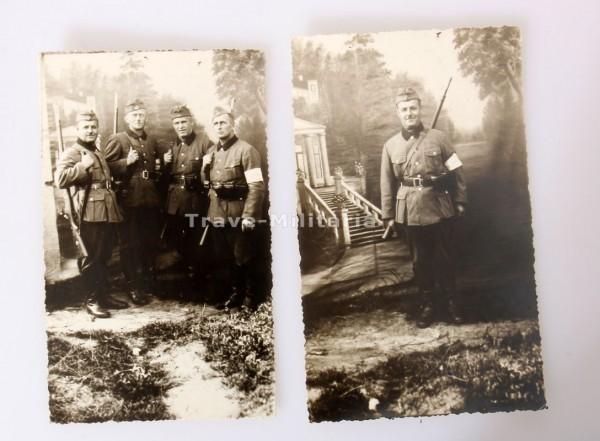 2 Fotos RAD Sept. 1939 im Polenfeldzug