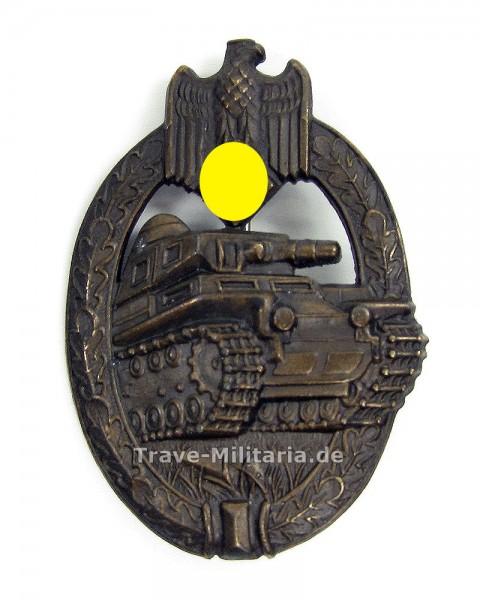 Panzerkampfabzeichen in Bronze Hersteller A.S.