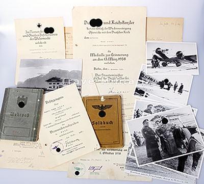 Papier-Nachlaß Gebirgsjäger - Gebirgsjäger-Artillerie Regiment 79