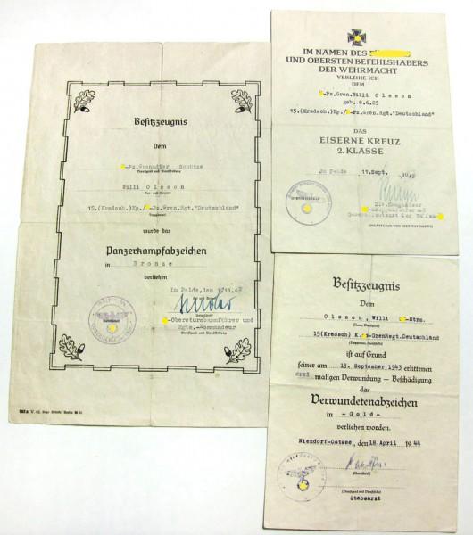 SS-Urkundengruppe - Das Reich