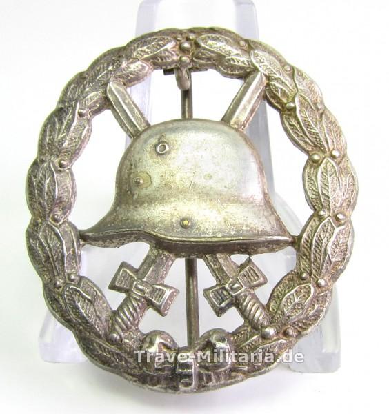 Verwundetenabzeichen 1918 Silber - durchbrochen - selten