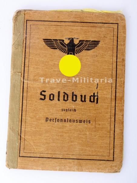 Soldbuch Oberschirrmeister P2-Sturmgeschütz -Lehr-Kommando