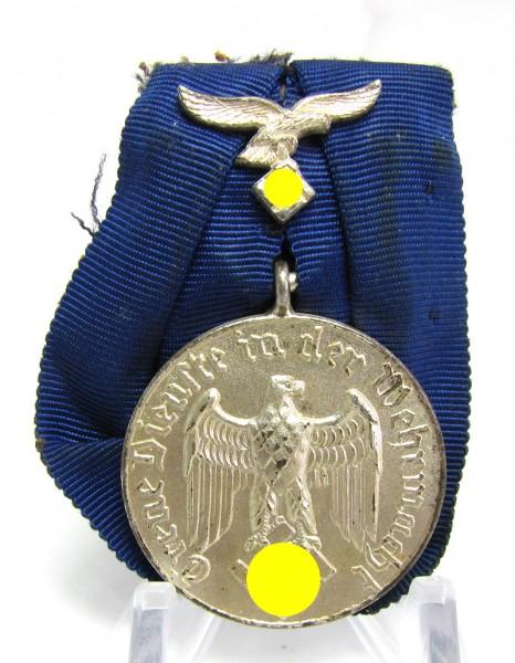 Einzelspange Wehrmachts-Dienstauszeichnung für 4 Jahre Luftwaffe