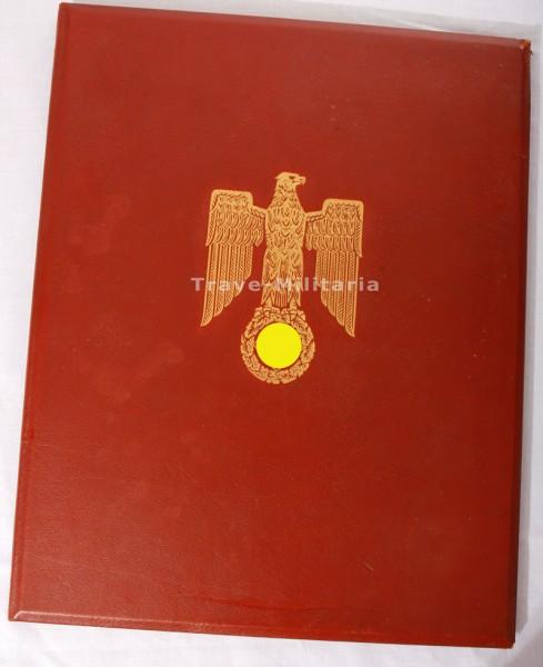 Große Ritterkreuz Mappe eines Stalingrad-Offiziers Posthum Verliehen