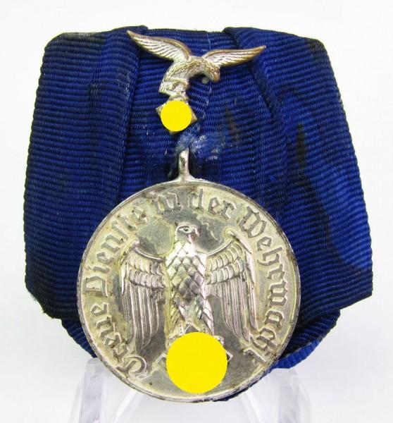 Luftwaffe Dienstauszeichnung Medaille für 4 Jahre an großer Bandspange
