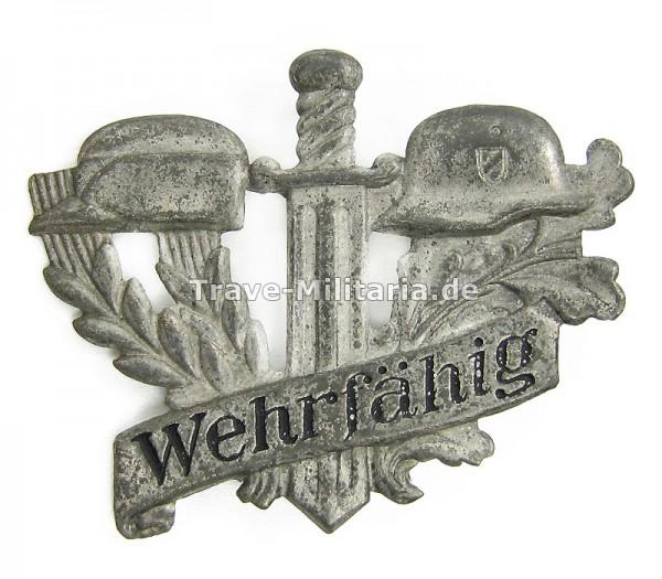 Kleinabzeichen Wehrfähig RAD-Wehrmacht