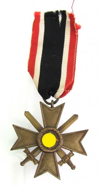 Kriegsverdienstkreuz 2. Klasse mit Schwertern am Band Hersteller Wächtler 100