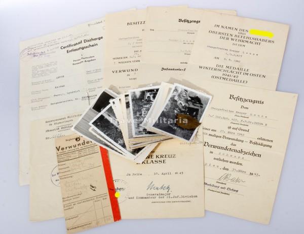 Urkundengruppe G.R. 423 - 212. Inf. Div.