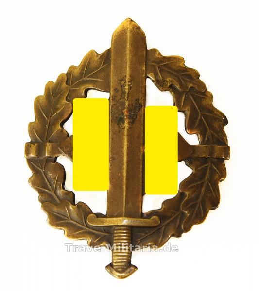 SA-Sportabzeichen in Bronze mit Matrikelnummer
