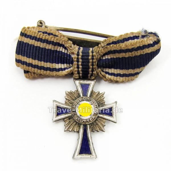 Miniatur Ehrenkreuz der Deutschen Mutter in Silber