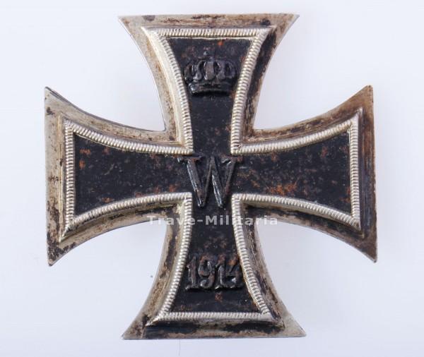800er Silber - Eisernes Kreuz 1. Klasse 1914