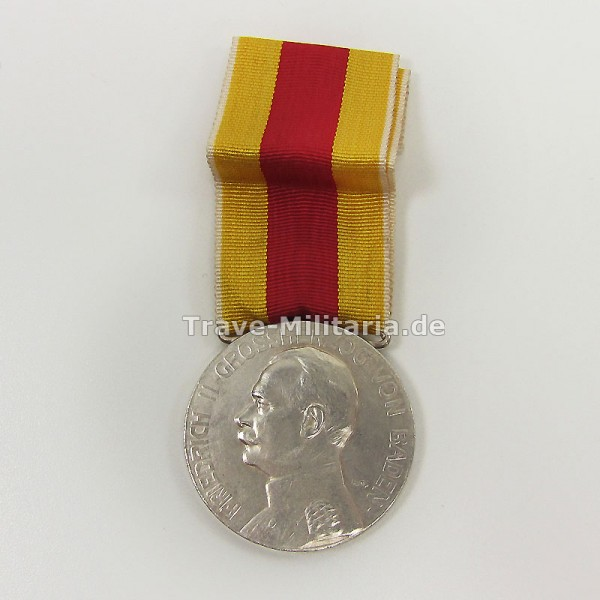 Baden Silberne Verdienstmedaille Friedrich II 1908