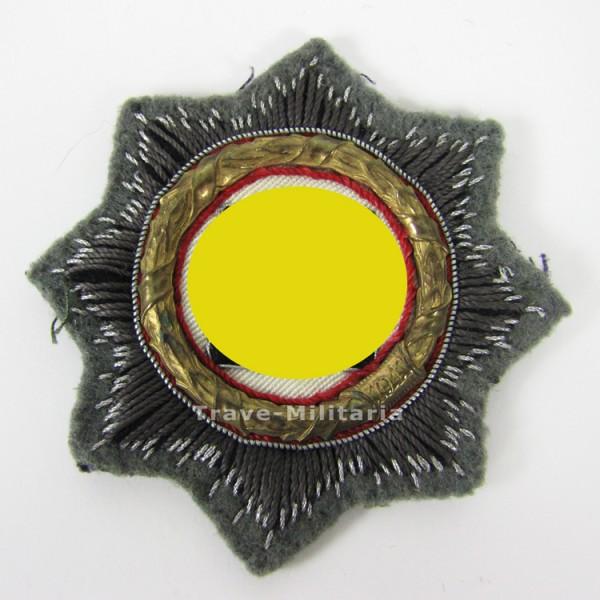 Deutsches Kreuz in Gold Stoffausführung Heer
