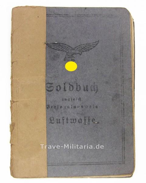 Soldbuch Luftwaffe, Bau-Kp., Flak-Abt.