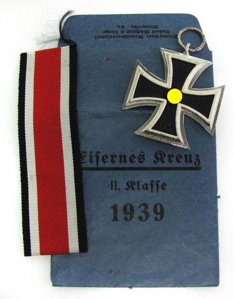 Eisernes Kreuz 2. Klassse 1939 mit Tüte Wächtler Lange MINT Condition