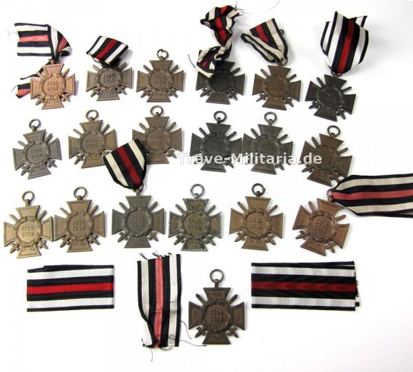 Lot 19 Ehrenkreuze für Frontkämpfer
