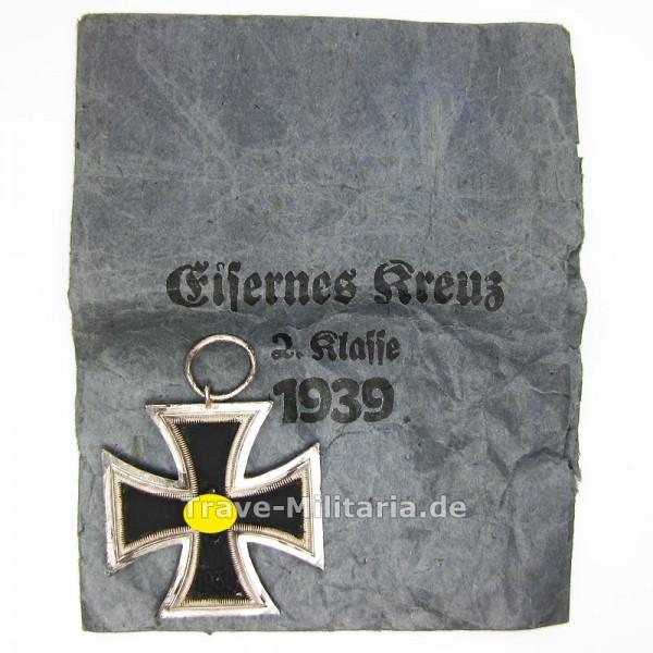 Eisernes Kreuz 2. Klasse mit Verleihtüte Walter & Henlein