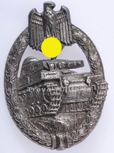 Panzerkampfabzeichen Silber Hersteller Aurich