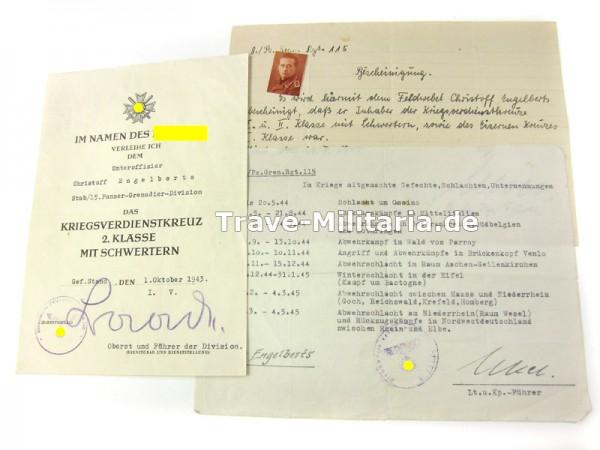 Papiernachlaß 115. Panzergrenadier-Regiment