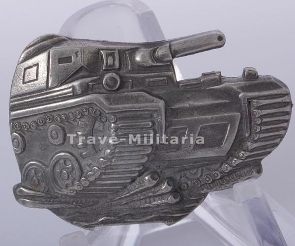 extrem seltenes Ersatzteil für Panzerkampfabzeichen mit Einsatzzahl