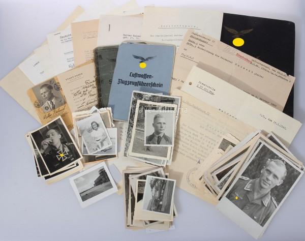 Jagdfliegernachlaß Walter Kalweit Jagdgeschwader 5+77