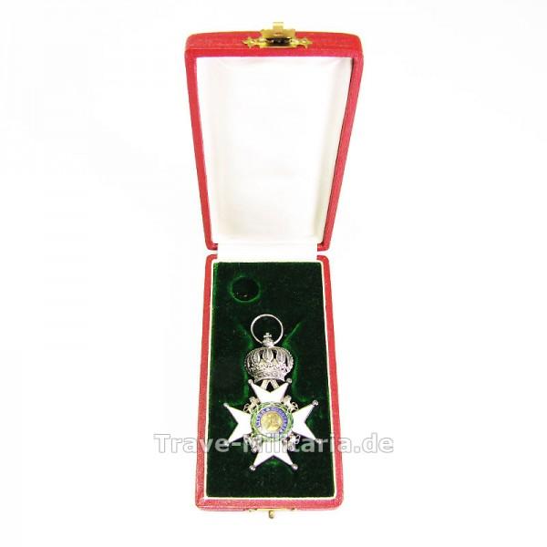 Herzoglich Sachsen-Ernestinischer Hausorden Ritterkreuz 2. Klasse im Etui