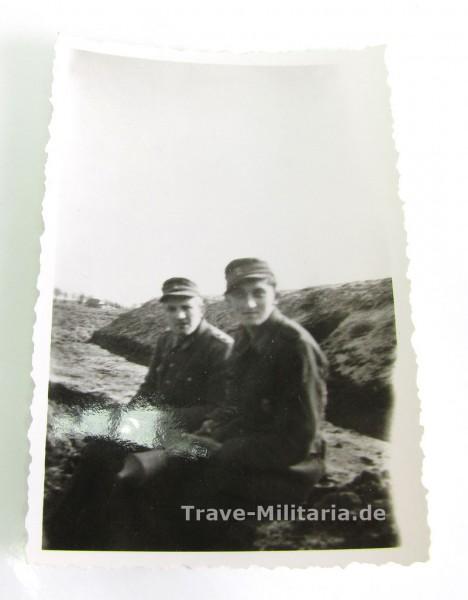 Foto 2 Soldaten mit Panzerfaust