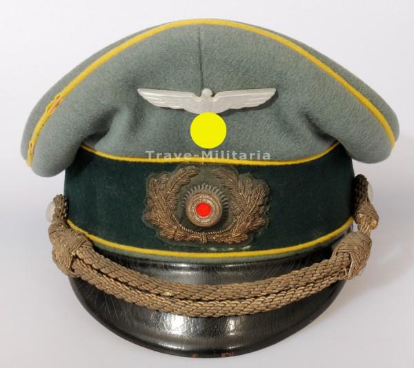 """Frühe Nachrichten Schirmmütze der Wehrmacht """"Erel"""""""